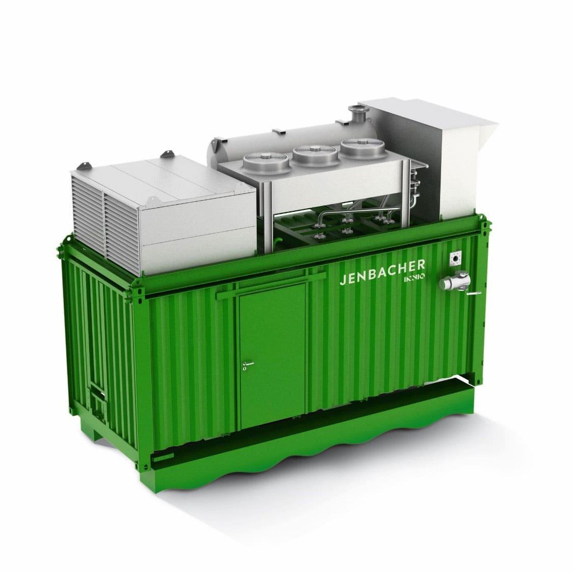 Контейнерна електростанція Jenbacher на базі 2 серії