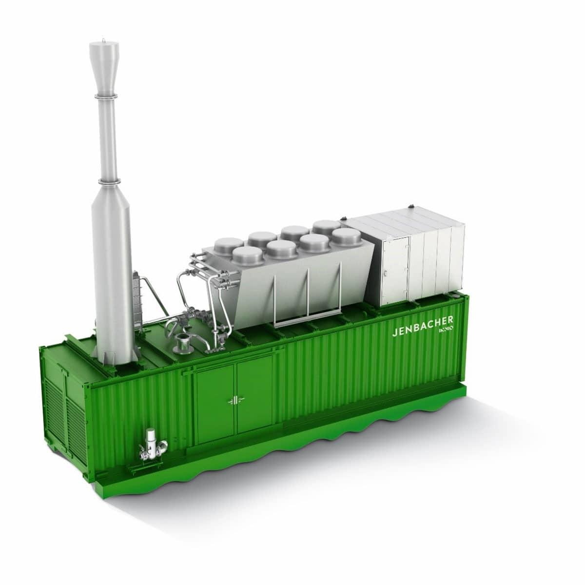 Контейнерна електростанція Jenbacher на базі 4 серії