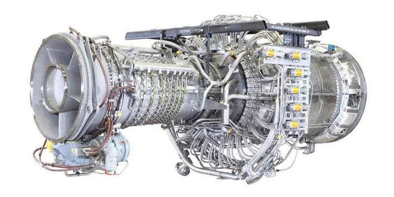 Газовая турбина авиационного типа PGT25+/LM2500+G4