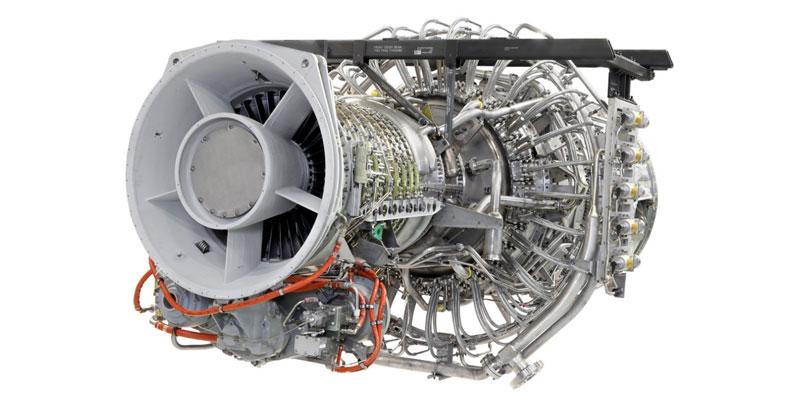 Газовая турбина авиационного типа PGT25/LM2500