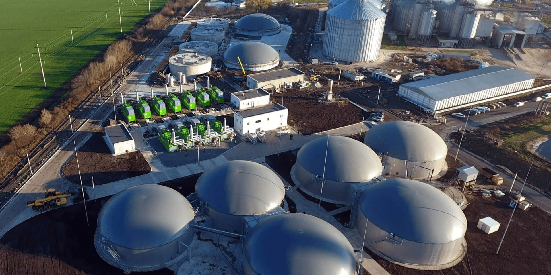 Waste recycling with benefits for the company and nature. The Teofipol Biogas Plant is the largest in Europe, with a capacity of 26.1 MW.