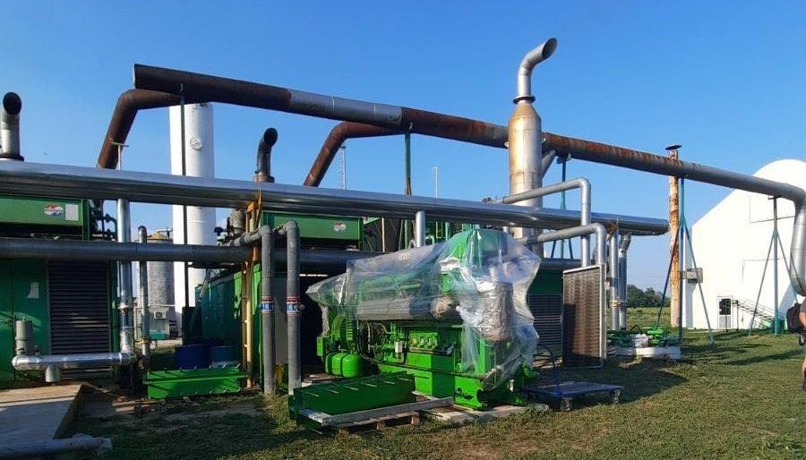 Рішення KTS Engineering щодо скорочення простоїв під час капітального ремонту для біогазового комплексу в Дніпропетровській області